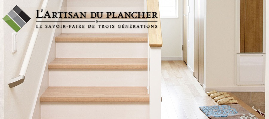 d capage escalier l artisan du plancher 514 232 3465. Black Bedroom Furniture Sets. Home Design Ideas